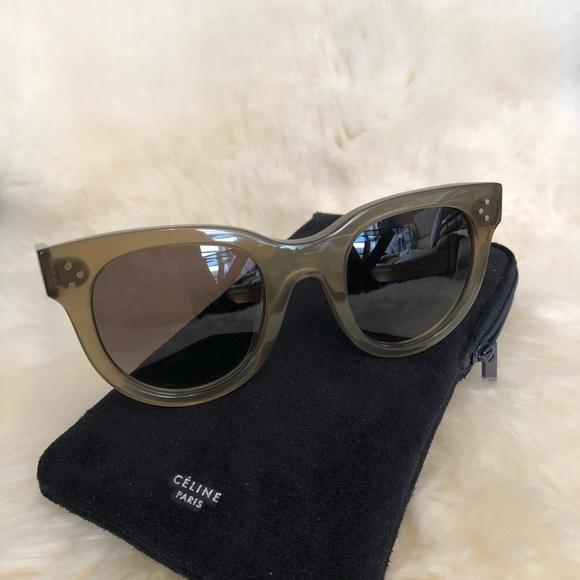 fe8172fa4a4 NWOT Celine Sunglasses CL41053 S QP4 Z3